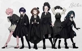 Картинка фон, девушки, аниме, Boku No Hero Academia