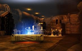 Картинка аппаратура, Nuke goes Critical, помещение