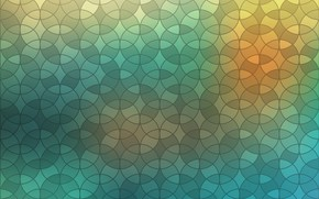 Обои круги, абстракция, abstract, геометрия, design, background, blur, color, geometric