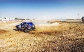 Картинка Mini, Спорт, Скорость, Гонка, Rally, Внедорожник, Ралли, 209, X-Raid Team, MINI Cooper, X-Raid, X Raid, …