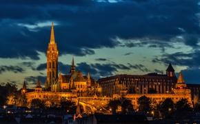 Картинка Венгрия, Hungary, Будапешт, Budapest, Matthias Church