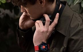 Картинка headphone, style, smartwatche, Montblanc Summit, Montblanc, man