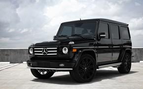 Картинка Mercedes, wheels, AMG, G55