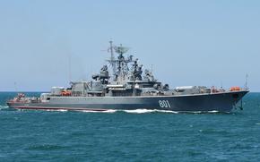 Картинка корабль, Черноморский Флот, сторожевой, проект 1135, Ладный