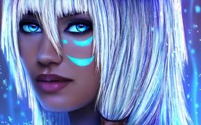 Картинка девушка, лицо, красавица, art, disney, kida, Kida Nedakh, Atlantis: The Lost Empire