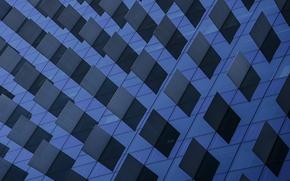 Картинка город, здание, окна, текстура, архитектура