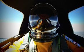 Картинка костюм, шлем, кабина, пилот, Lockheed SR-71, Blackbird., сверхзвуковой самолёт разведчик