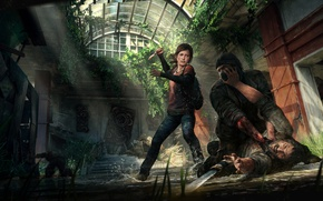 Картинка Элли, Game, The Last of Us, Джоэл, Naughty Dog, Joel, Ellie, Sony Computer Entertainment, Одни …