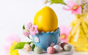 Обои цветок, праздник, яйца, весна, пасха, Easter, egg