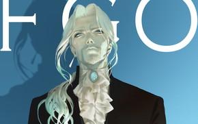 Картинка взгляд, аниме, арт, мужчина, Fate / Grand Order, Black Lancer