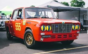 Картинка автомобиль, передок, Lancia, Fulvia GT