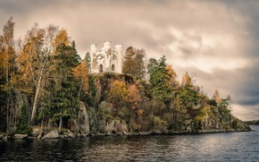 Картинка Russia, Leningrad Oblast, Vyborg, Monrepos park, Ludwigstein Chapel