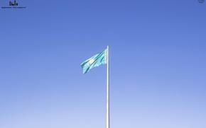 Картинка Казахстан, Kazakhstan, Караганда, Karaganda, Флагшток