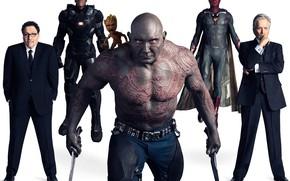 Картинка оружие, белый фон, персонажи, Avengers: Infinity War