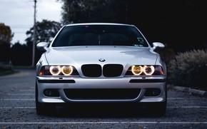 Картинка BMW, E39, Silver