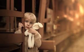 Картинка грусть, игрушка, мальчик, Goodbye