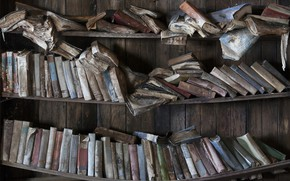 Картинка фон, книги, полки