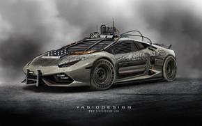 Картинка car, авто, тюнинг, Lamborghini, Ламборджини, автомобиль, auto, tuning, Lamborghini Huracan, Yasid Design, Yasid Oozeear