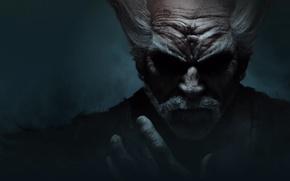 Картинка Blue, Tekken 7, heihachi