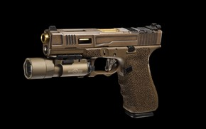 Картинка пистолет, фонарик, FI Mk 2, G17