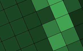 Обои material, color, линии, design, текстура, зеленый, квадраты