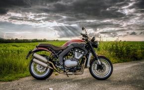 Картинка природа, мото, Дорога, мотоцикл, байк, классика., Horex-VR6