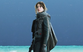 Картинка Star Wars, Movie, Rogue One: A Star Wars Story, Изгой-один. Звёздные войны: Истории, Jyn Erso