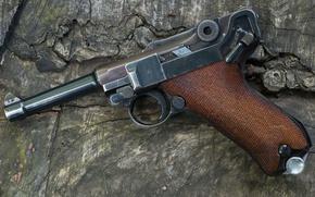 Картинка пистолет, Luger, 9 мм, 1939- 42