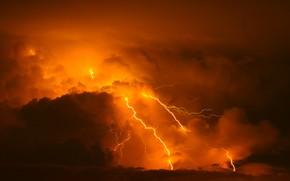 Картинка гроза, облака, стихия, молния
