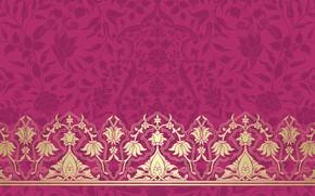 Картинка Узор, Розовый Фон, Текстура