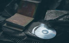 Картинка пыль, грязь, компакт диски
