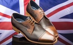 Картинка отражение, обувь, флаг, туфли