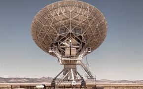 Картинка пустыня, антенна, Astronomy Observatory, National Radio