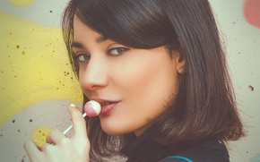 Картинка девушка, Naomi, конфетка