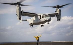 Картинка Osprey, американский конвертоплан, MV-22