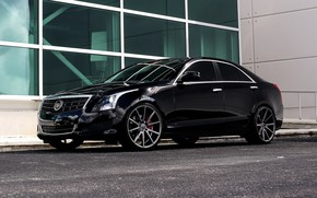 Картинка Cadillac, custom, ATS, JL Audio