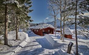Картинка зима, Норвегия, Norway, Romsdal