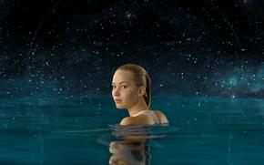 Обои Jennifer Lawrence, Пассажиры, 2016, Дженнифер Лоуренс, Ничто не случайно, Passengers