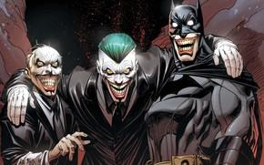 Картинка Улыбка, Джокер, Бэтмен, Зубы, Костюм, Герой, Маска, Комикс, Супергерой, Hero, Batman, Smile, Joker, Злодей, Брюс …