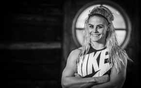 Картинка smile, Nike, blonde, sara sigmundsd