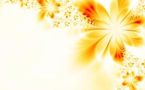 Обои абстракция, фон, узор, цветок