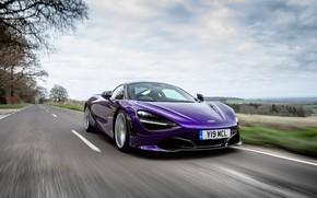 Картинка McLaren, скорость, суперкар, Coupe, 2018, 720S