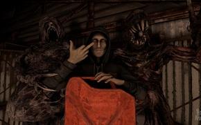 Картинка Монстры, Ужас, Horror, Residen Evil, Лукас, Lucas Baker, RE7, Residen Evil 7, Lukas