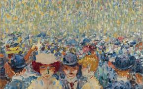 Картинка масло, холст, Мулен де ла Галетт, 1906, Kees van Dongen