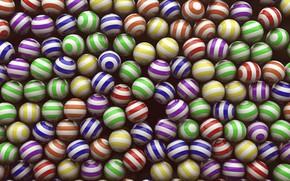 Картинка шарики, мячики, много