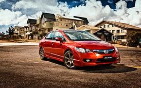 Картинка Honda, седан, хонда, Civic, цивик