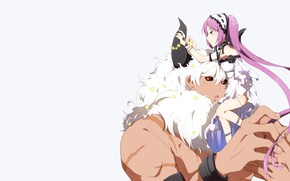 Картинка аниме, арт, двое, Fate Grand Order