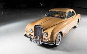 Картинка ретро, Bentley, Continental, автомобиль, Sports