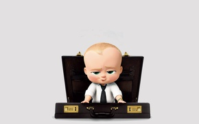 Обои cinema, boss, movie, baby, book, film, animated film, animated movie, suitcase, DreamWorks Animation, The boss ...