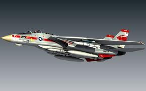 Картинка model, Tomcat, F14, Blender 3D, Wolfpack